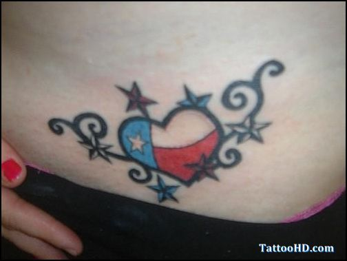 Rebel Flag Tattoos for Women | tattoos flag tattoos men rebel pics ...