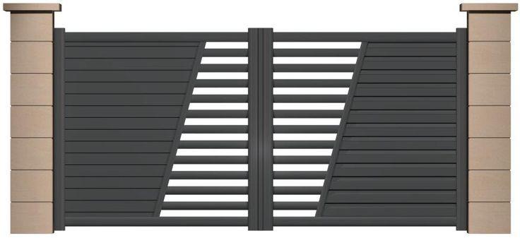 SIB : Fabricant Portail Aluminium, portail battant, portail coulissant