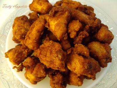 Tasty Appetite: Chicken Pakora