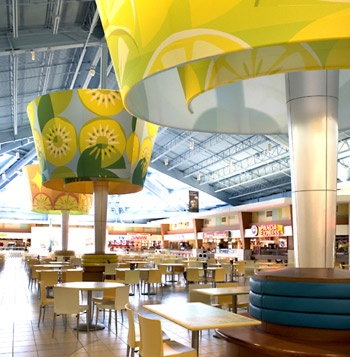 Food Court at Sawgrass Mills. PDT Designs.                                                                                                                                                     More