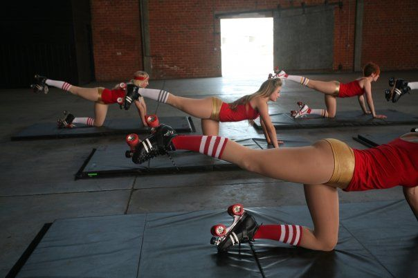 Roller Derby Workout.. kicks my ass all the time