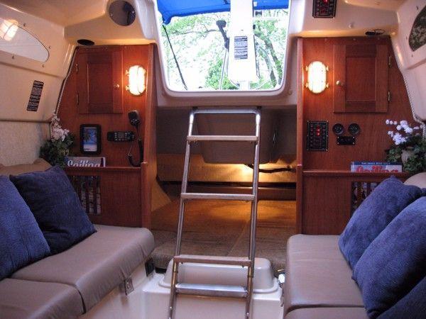 New Interior Bulkhead Boatingonlake Sailboat Interior Sailboat Boat Interior