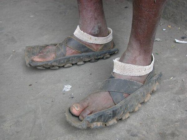 Обувь самодельная