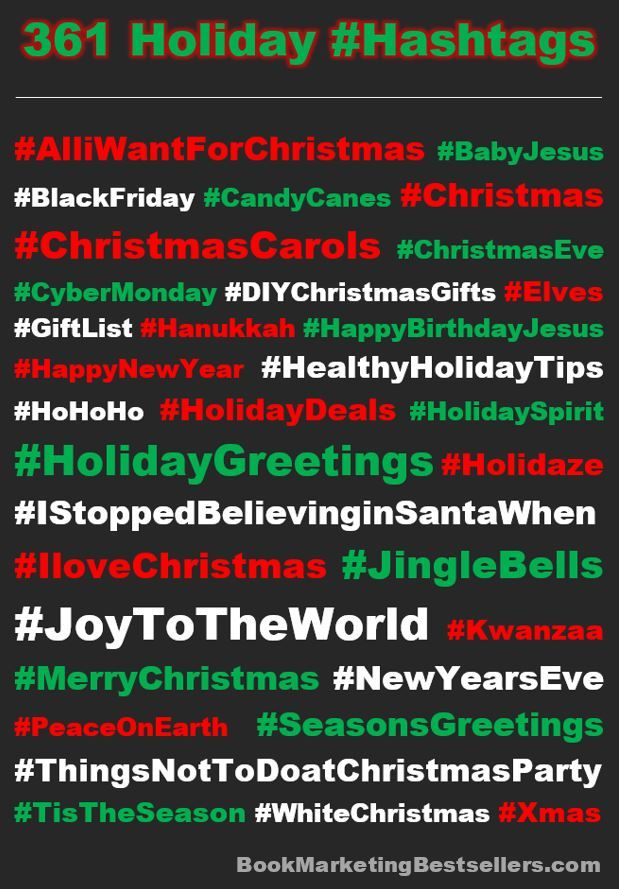 Holiday Hashtags Here Are A Few Of The Great Hashtags You Can Use When You Post About The Winter Holiday Sea Holiday Hashtags Holiday Greetings Holiday Season