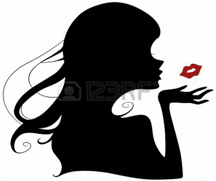 Blow Kiss Clip Art - Royalty Free - GoGraph