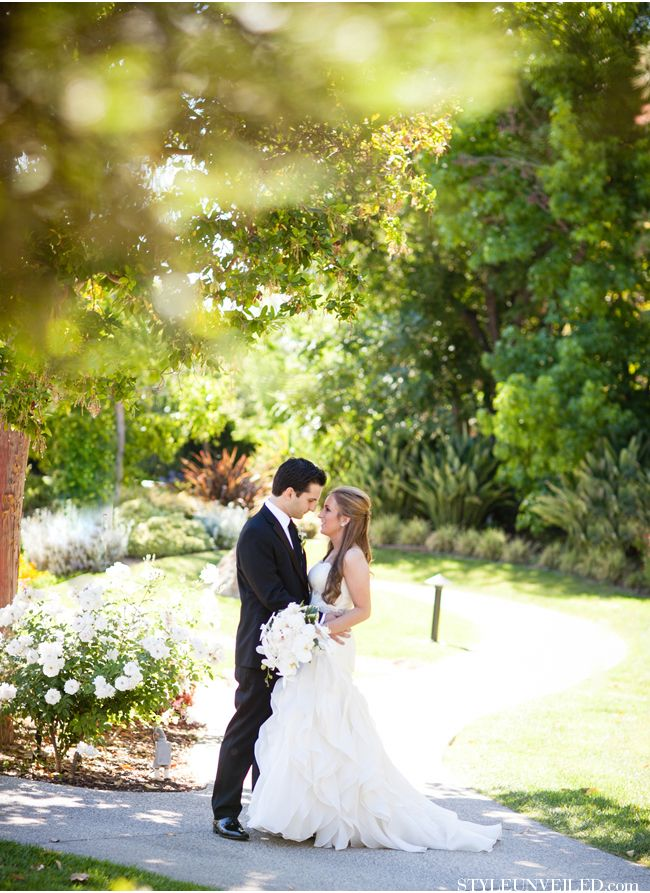 Our sprawling gardens make for romantic wedding