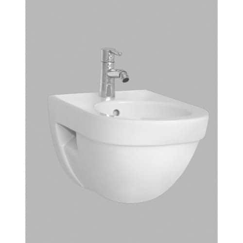 Nameeks 4307-003-0288 Vitra Wall Mounted Round Bidet Bowl Only