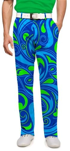 Mens Golfing Pants by Loudmouth Golf - Splash.  Buy it @ ReadyGolf.com
