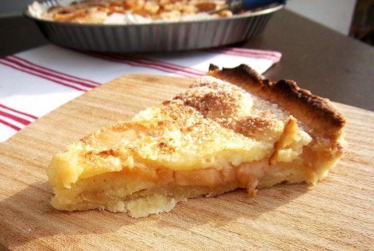 Torta normanna alle mele Renette (Julia Child's)