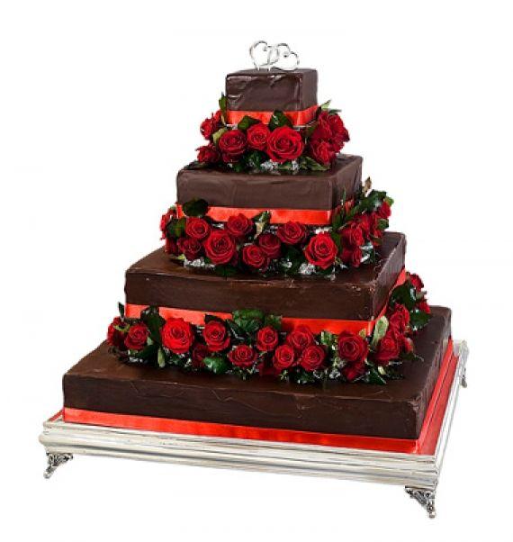 Piramida czerwona róża