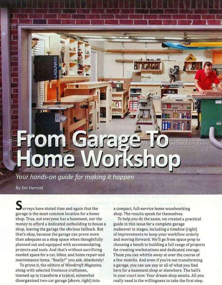 #873 Garage Workshop Layout - Workshop Solutions Plans, Tips and Tricks