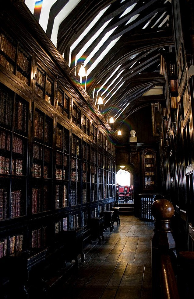 old library, founded in 1653, situated in Long Millgate Manchester, M3 1SB, UK, and open free of charge. Worth a visit!