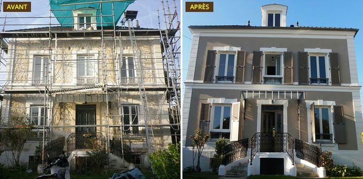 Les 500 meilleures images propos de fa ades maisons sur - Nettoyage des facades de maison ...