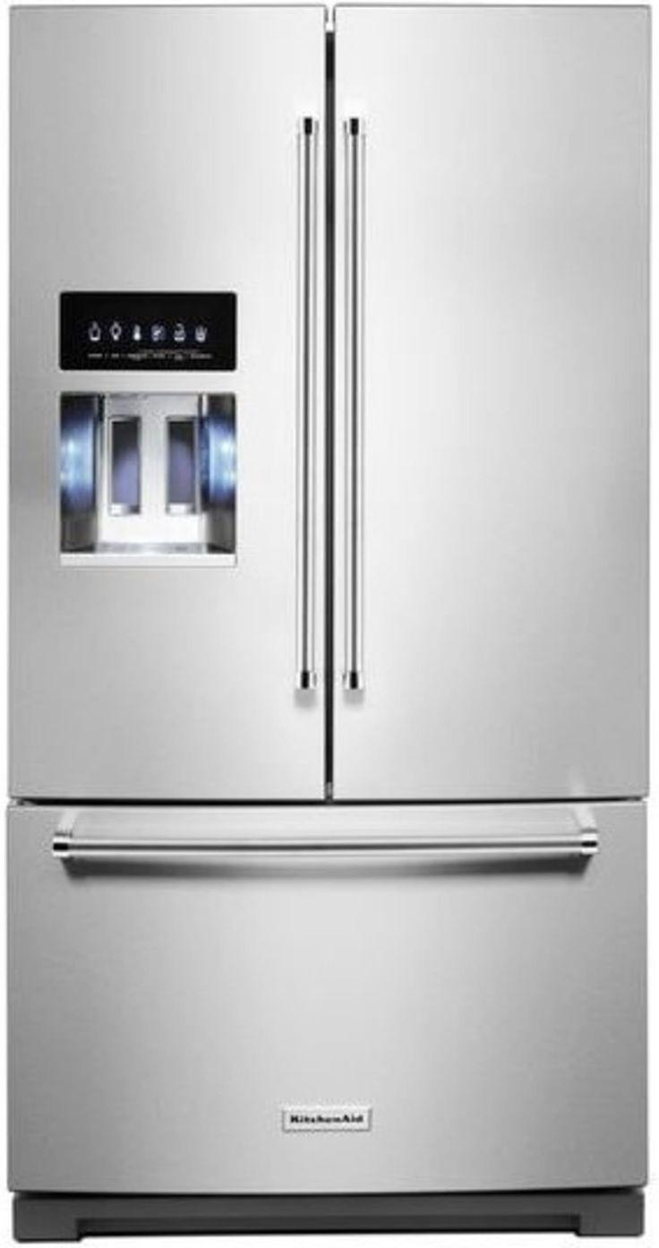 Krff507hps by kitchenaid french door refrigerators