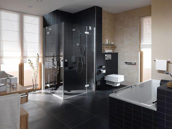20 best Badezimmer images on Pinterest Bathroom, Bathroom ideas - badezimmer l form