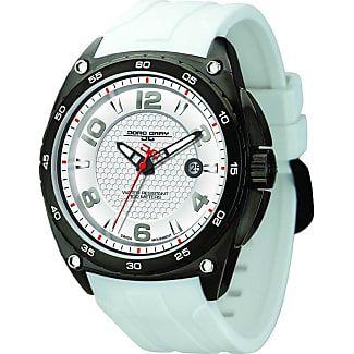 Jorg Gray JG8400-12 Silver Mens Watch | Silicone