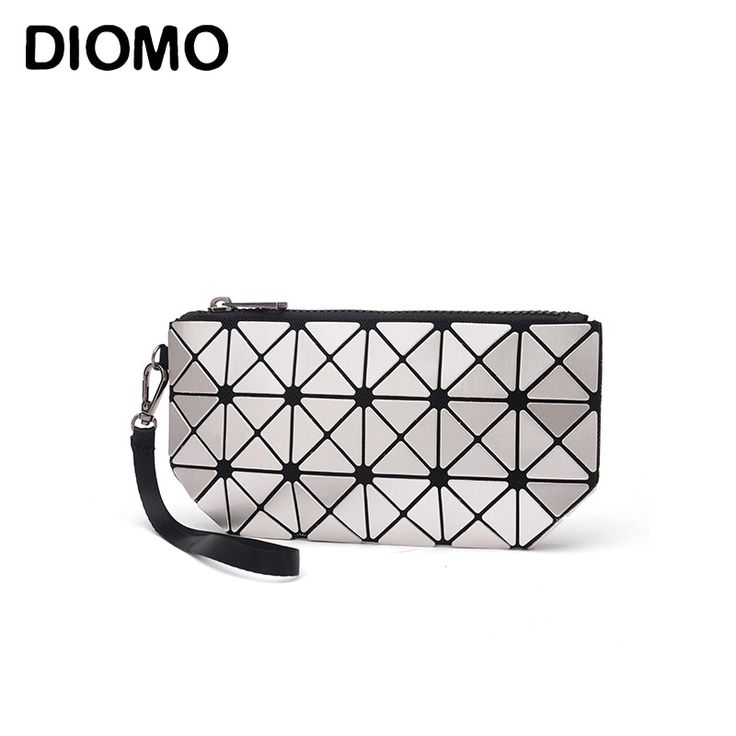 DIOMO 2017 laser hologram bag women clutches fashion geometric plaid wrist bag hand bag organizer makeup bag //Price: $6.48 & FREE Shipping //     #hashtag3