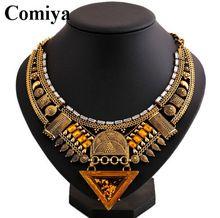 Lujos étnicos Venta caliente dos colores collar de la joyería india rhinestone collares de mosaico collares mujeres aliexpress 2015 (China (continental))