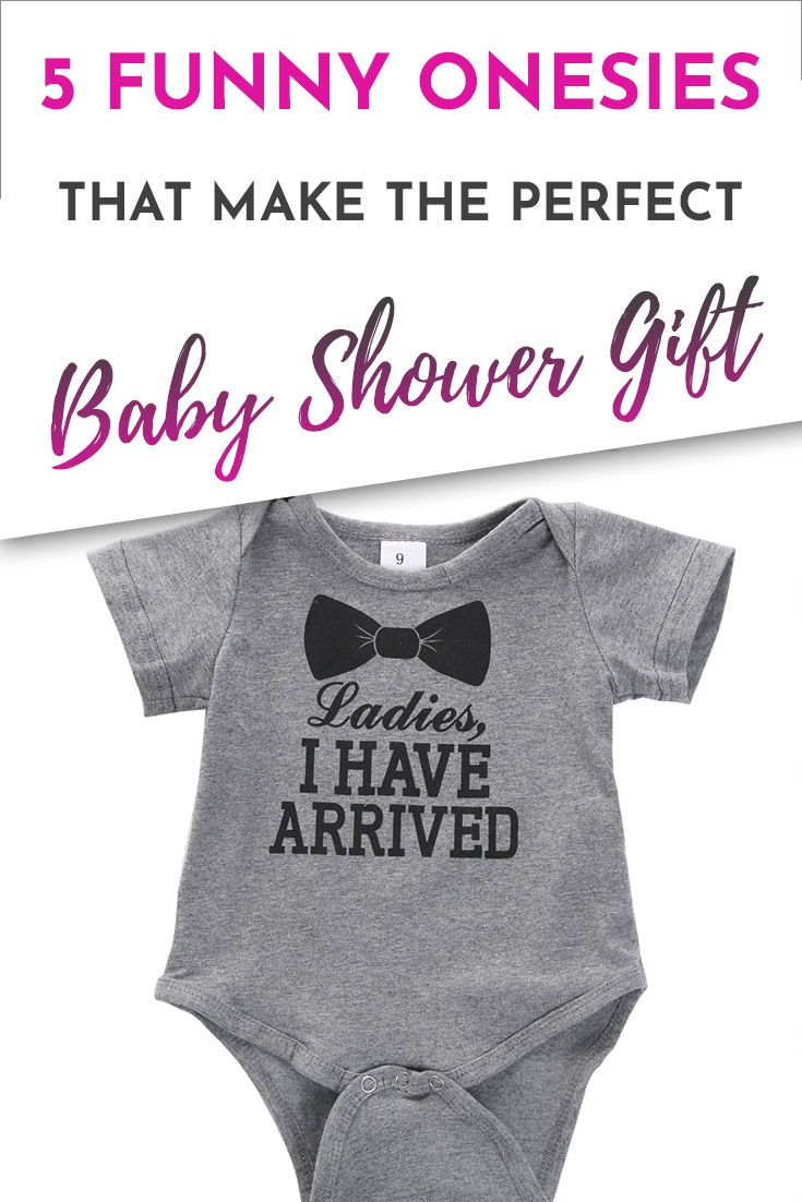 5 funny baby onesies that make the perfect baby shower gift | kids