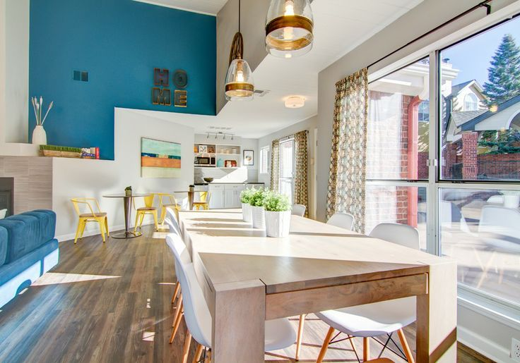 Interiors | Agnes & Hoss, Keystone Apartments Clubhouse, Denver