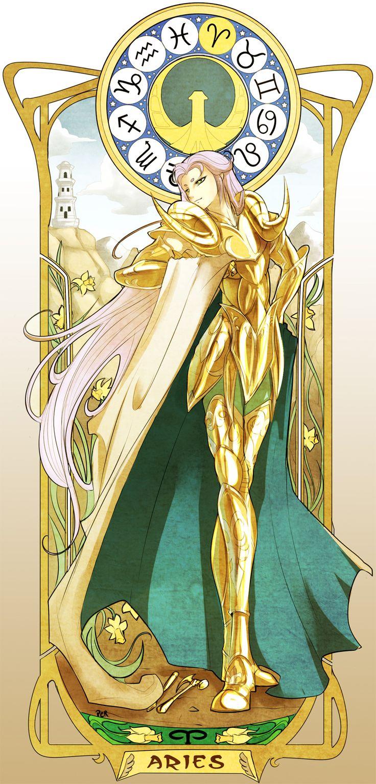 Saint Seiya, Aries Mu, Gold Saints
