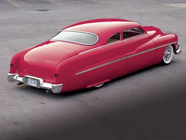 Very nice '50-ish Mercury coupe..