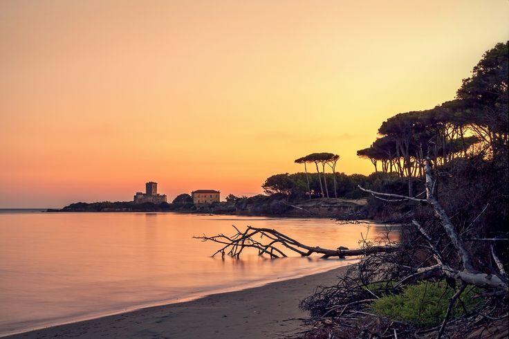 The beach of Torre Astura sunset by Gennaro Leonardi on 500px