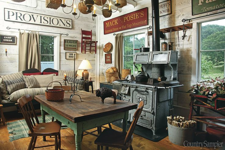 Crafting a Dream: Furniture maker David T. Smith restores an 1890 cottage that honors his wife's West Virginia roots, renovating and decorating to reflect the couple's country preferences. (Photographed and styled by Franklin & Esther Schmidt)   Buy the May 2014 issue: http://www.samplermagazines.com/April_May_2014_Country_Sampler_Pre_sale_p/c514b001a.htm  Preview the May 2014 issue: http://www.countrysampler.com/issues/detail.php?issue_code=C0514