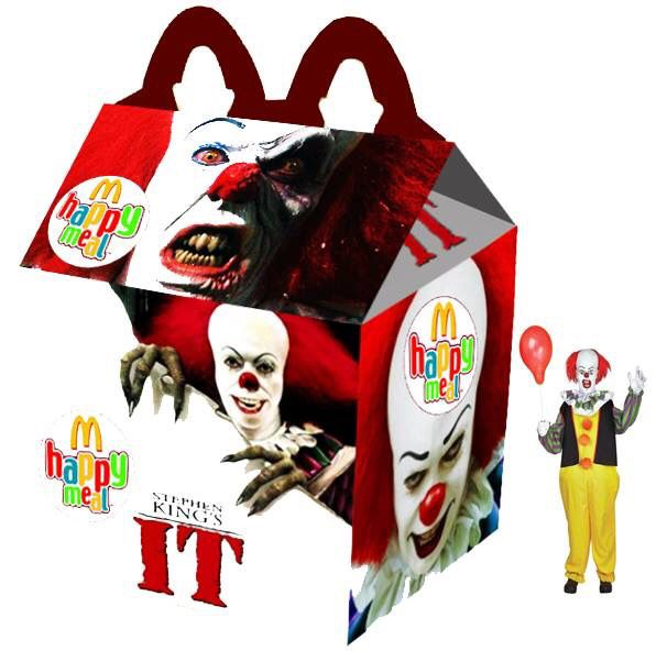 """Stephen King's IT"" Happy Meal"