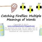 Free! Catching Fireflies...40 Multiple meanings game set.