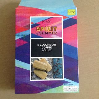 M&S Spirit of Summer Colombian Coffee Lollies