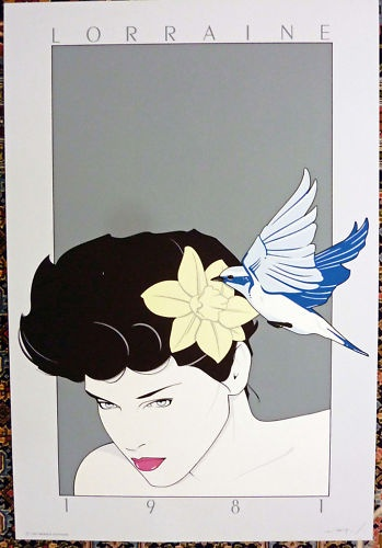 Patrick Nagel - Original Serigraph - Lorraine - 1981 | eBay