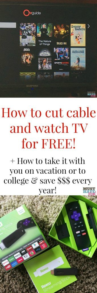How to cut cable and watch tv for free! Free tv channels, free movies and more…