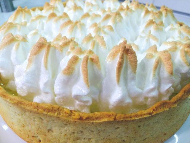 Imagem da torta de limão (Foto: Washington Ferreira / TV Jornal)