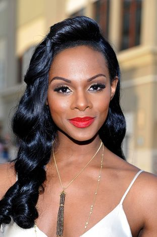 Tika Sumpter at the NAACP Image Awards-- need to recreate this look for me!!!