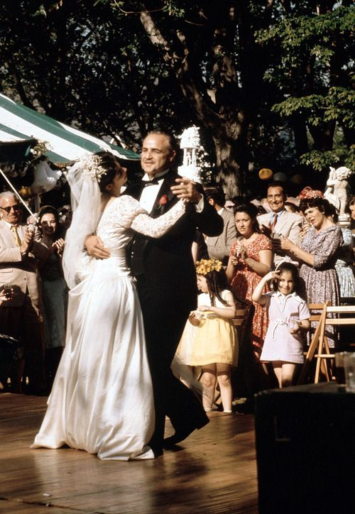 "Marlon Brando and Talia Shire in ""The Godfather"" (1972). DIRECTOR: Francis Ford Coppola."