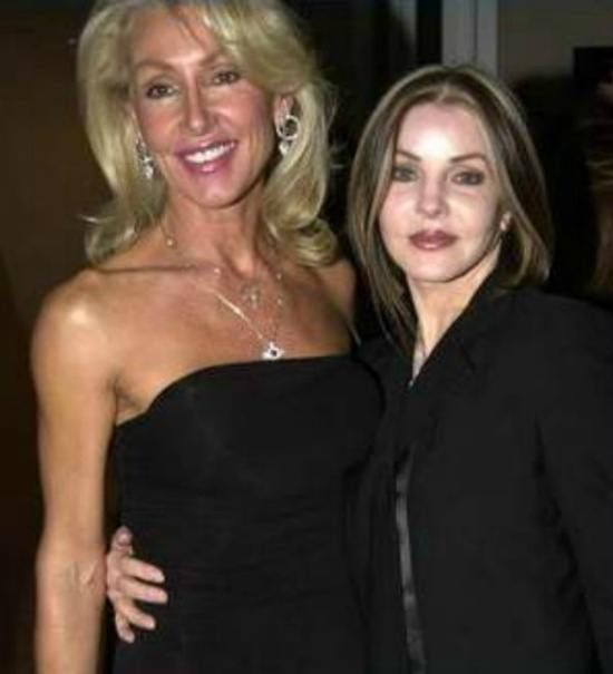Linda Thompson & Priscilla Presley