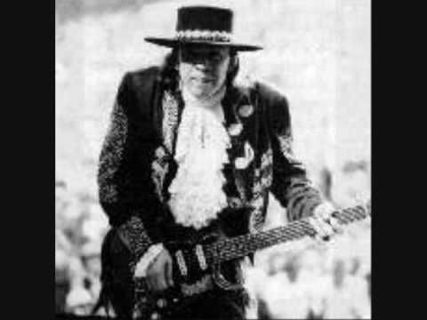 Stevie Ray Vaughan - Cold Shot. I still remember where I was when I heard he died in a plane crash.