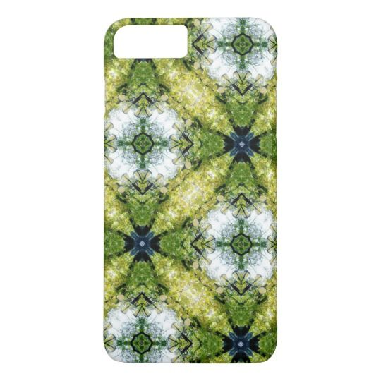 Green Pattern iPhone 7 Plus Case