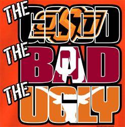 + Oklahoma State Cowboys Football T-Shirts - The Good The Bad The Ugly