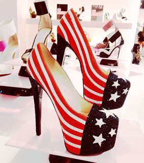 Who's ready for these 4th of July shoes, here's 5 fun-crazy heels you might love: