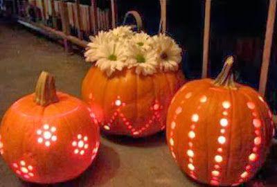 C mo hacer calabazas luminosas para halloween solountip - Calabazas decoradas manualidades ...