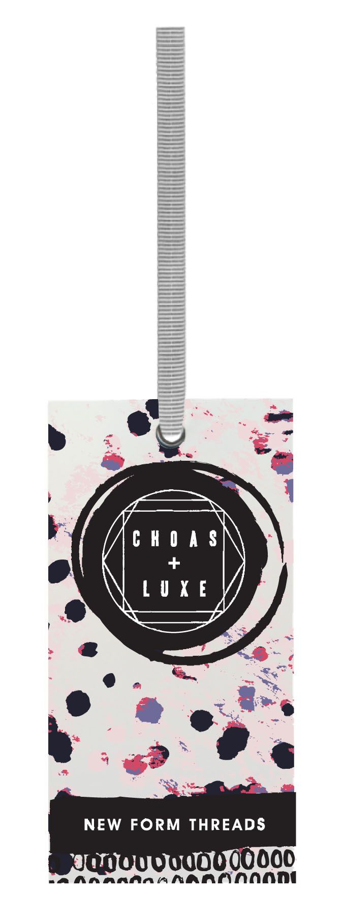 Choas & Luxe #hangtag