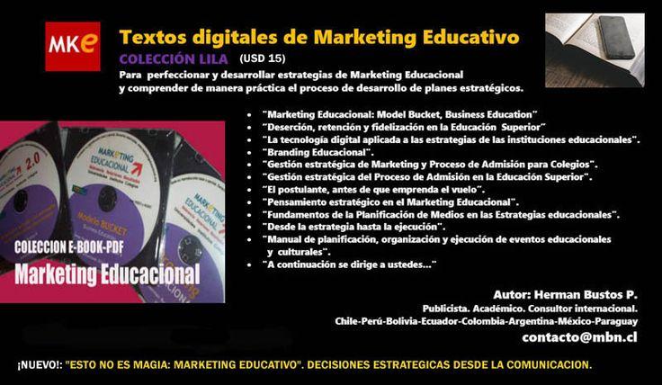 Textos digitales de Marketing Educativo