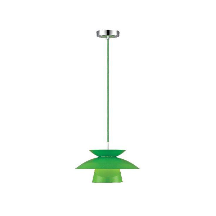 Maxi Dallas Metal pendel - Lime - Ø30 - Halo Tech Design
