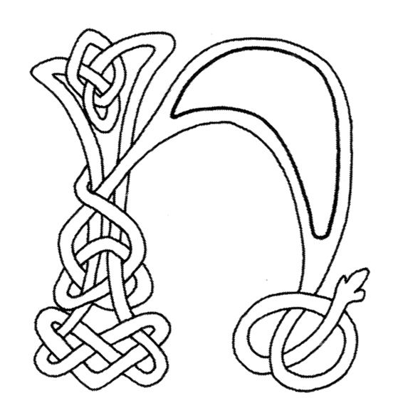 celtic alphabet coloring pages - 1112 best coloring pages letters numbers images on