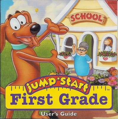 Jump Start First Grade - WHOA WHOA WHOAAA yes! the kitchen was scary when you messed up the recipe!