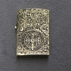 Fancy - RARE BIG SIZE BRASS CONSTANTINE ZIPPO LIGHTER THICKENING... | Shop | Kaboodle