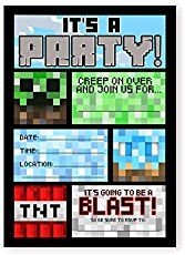 Looking for easy & inexpensive Minecraft Birthday party ideas! Look no further Here find minecraft birthday cake, minecraft party decorations and more!