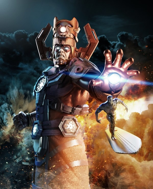 Best Marvel Galactus Images On Pinterest Marvel Comic - Superheroes re imagined as if they were sponsored by big brands
